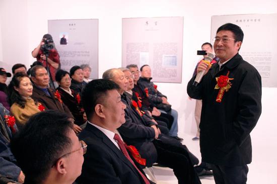 ▲原全国人大常务委员会副秘书长王庆喜