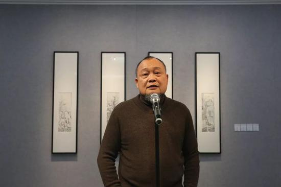 美术批评家苏旅致辞
