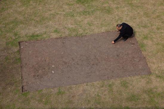 清除 行为 480m×270cm 2018