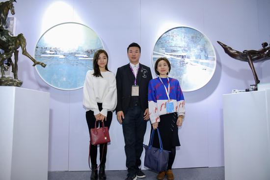 路可艺术联合厦门O空间亮相深圳国际艺术博览会