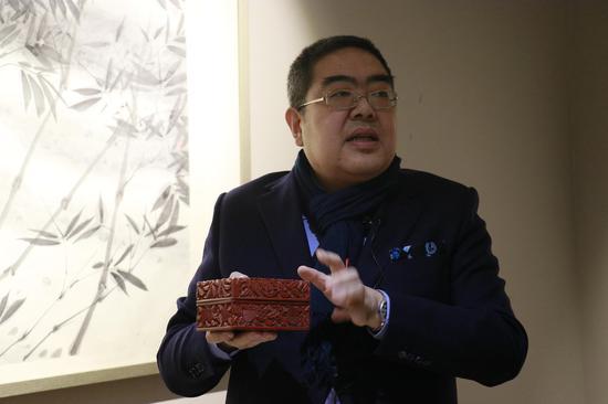 北京湛然拍卖副总经理朱邈