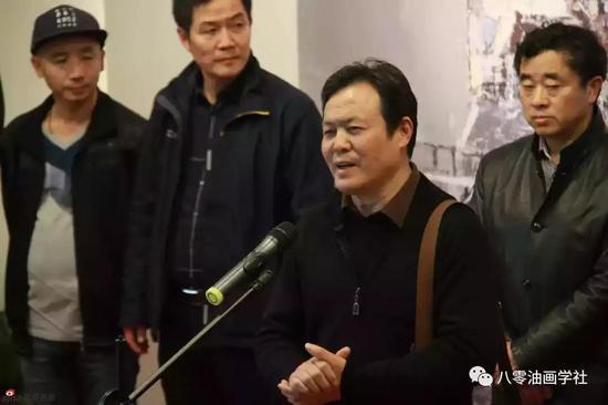 原华东师范大学艺术学院副院长、教授陈心懋 致辞