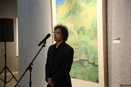南京大学美术研究院硕士生导师陆庆龙致辞