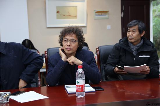 南京大学美术研究院硕士生导师陆庆龙发言