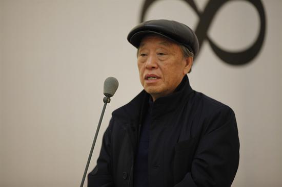 中国国家画院院委申万胜致辞