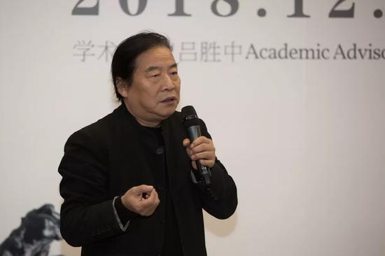 实验艺术学院张国龙教授致辞