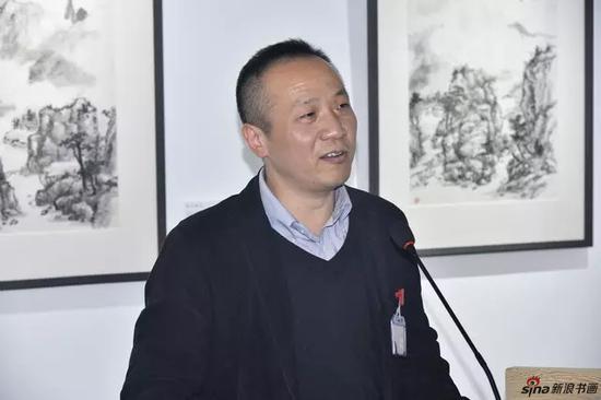 著名书法家、北京介居书院美术馆馆长张智重先生