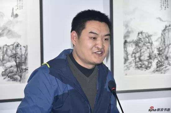 荣宝斋杂志副主编 李向阳