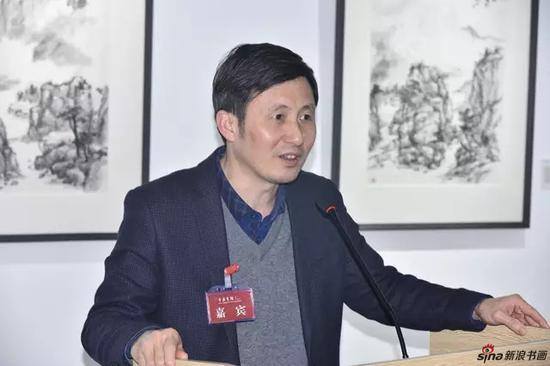 中央广播电视总台 央广记者中心专职副书记 温广为先生