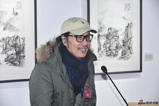 中国文联委员、中国书法家协会理事、电视剧《书圣王羲之》导演、上海电影学院客座教授 周祥林先生