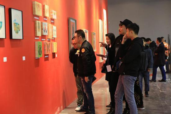 第七届大艺博(广州)媒体及贵宾预览专场现场