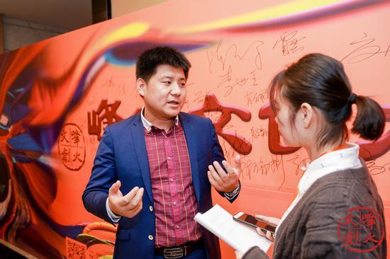 中國起源地文化研究中心執行主任、北京大學科技園創業導師李競生接受采訪