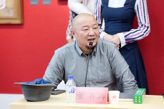 清华大学美术学院雕塑系主任董书兵