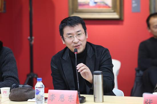 李惠东 北京工业大学艺术设计学院美术系雕塑专业主任、教授
