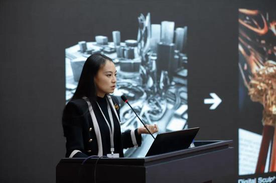 上海极臻三维设计有限公司总经理、中国3D打印文化博物馆馆长王蕾
