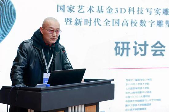中国雕塑学会副秘书长唐尧