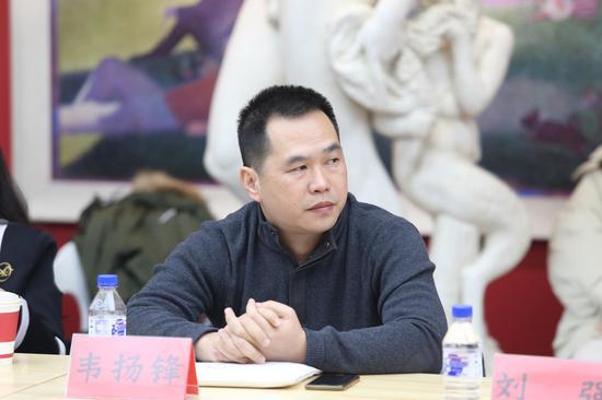韦扬锋 广西艺术学院造型艺术学院雕塑系副主任