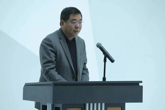 吉林艺术学院副校长王俊杰致开幕辞
