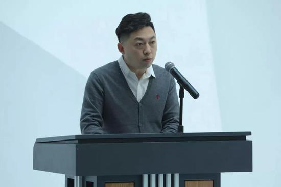 国家艺术基金3D科技写实雕塑人才培养项目负责人,吉林艺术学院美术学院雕塑系主任王麒钧致辞