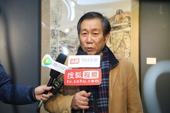 清华大学美术学院博士生导师陈池瑜教授接受媒体采访