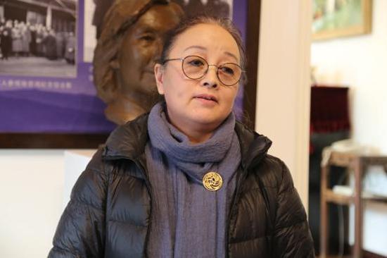 李苦禅之女,中国少年儿童造型艺术学会会长李健