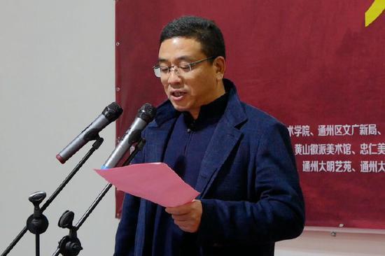 二甲镇党委书记倪建忠致辞