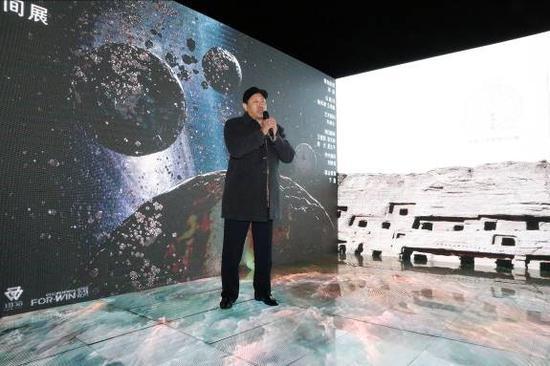 中国敦煌石窟保护研究基金会理事长、敦煌艺术研究院研究员杨秀清先生致辞