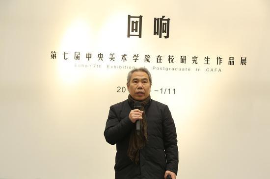 中央美术学院党委副书记王少军教授致辞