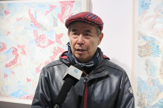 东京东洋美术学校关乃平教授接受媒体专访