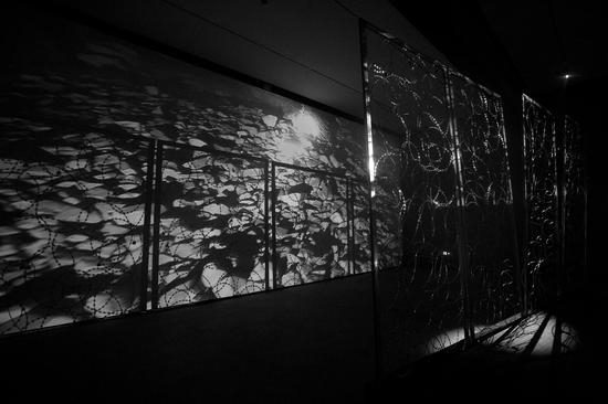 界 装置影像 600x250x340cm 2017
