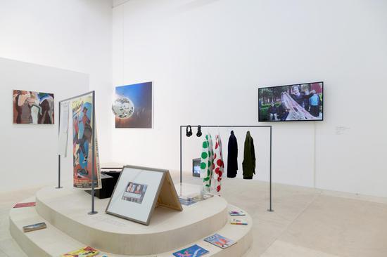 """泰康空间当前展览""""恋舞神曲""""现场,2018"""