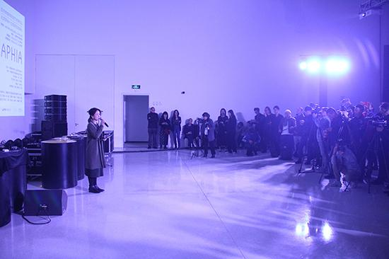 北京时代美术馆 2018国际跨媒体艺术节现场