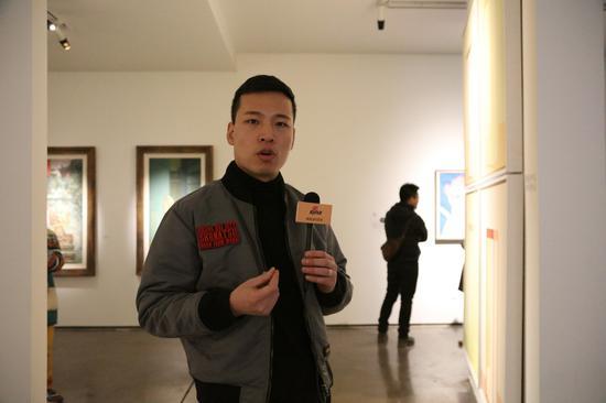 白野画廊王皇接受新浪当代采访