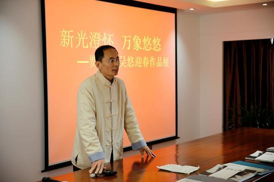 中国艺术研究院研究员 贾新光