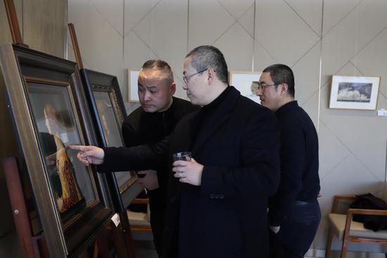 路昊教授、朱基力导师、艺空间张雁枫