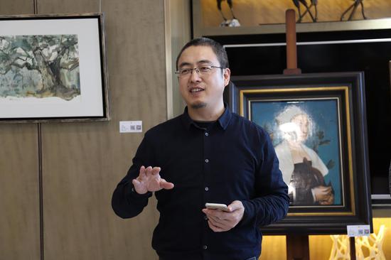 """艺空间艺术总监、策展人、艺术家张雁枫主持""""坚守与传承""""沙龙展开幕"""