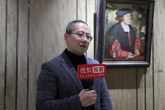 中央美院副教授,中央美院西方传统绘画教研室主任学术主持路昊先生接受媒体采访