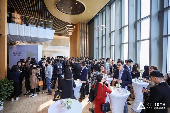 K11十周年庆典暨广州K11 盛大开幕论坛现场