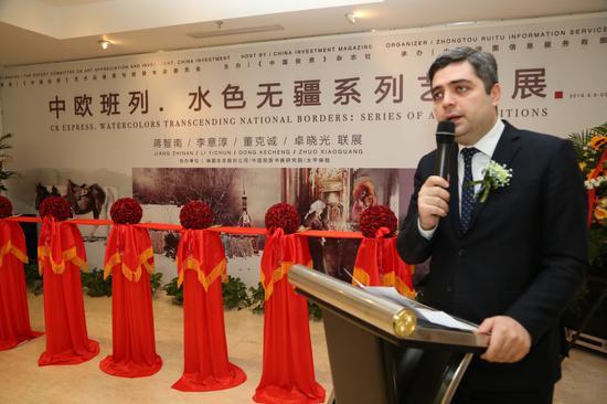 水色无疆系列主题展在北京视觉经典美术馆隆重开幕