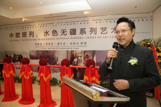 中阿国际文化交流促进会会长、中国民族书画研究院院长张生礼先生