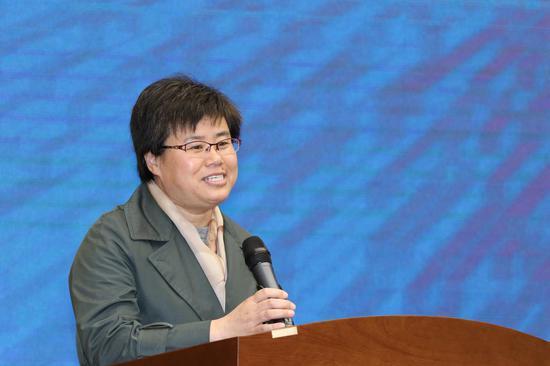 天津市滨海新区文化和旅游局副局长贺淑荣致辞