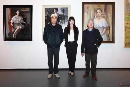 夏葆元、魏景山艺术家前辈与主持人张子祺