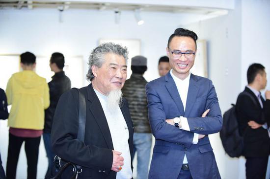 艺术家甘泉先生与藏珑泰极杨鸿杰先生