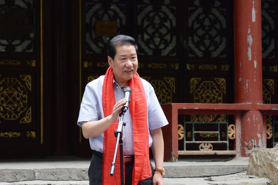 中国书法家协会理事,北京书法家协会副主席刘俊京致辞