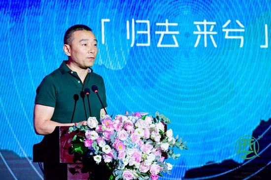 焦兴涛教授讲解作品创作思路