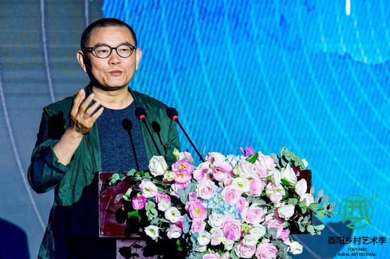 傅中望教授讲解作品创作思路
