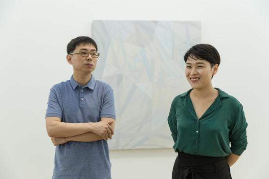 艺术家王豪与蜂巢深圳总监李婷婷