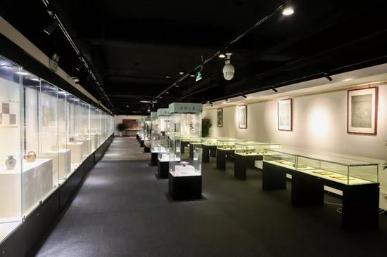 《茶器盛宴——中国古代茶器展》展厅