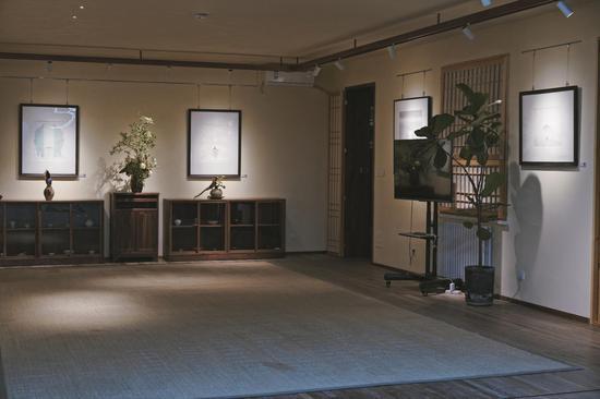 展览现场:甲和灯禅意生活空间