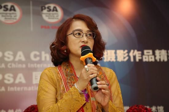 PSA国际关系副会长阿加莎?布南塔在启动及开幕仪式上致辞